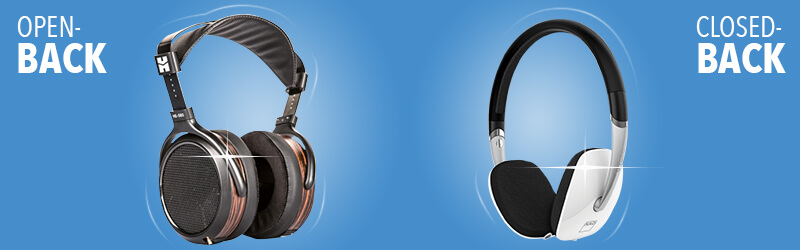 What is an Open Back & Closed Back Headphone