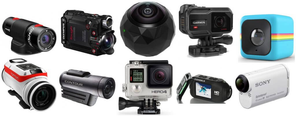 different kinds of video cameras   Action Video Cameras