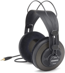 Samson SR850 Semi-Open-Back Studio Reference Headphones 1