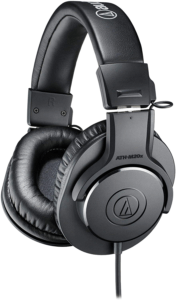 Audio-Technica ATH-M20x Professional Studio Monitor Headphones